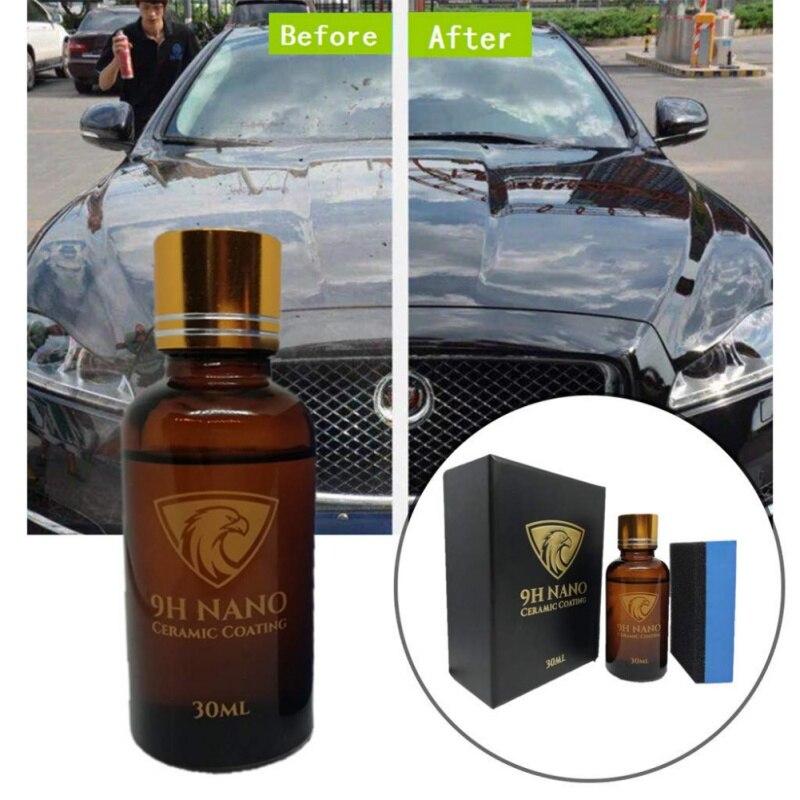 Anti-risco cerâmico do polir do carro do revestimento do hidrofóbico nano do vidro da pele dos produtos de automóvel