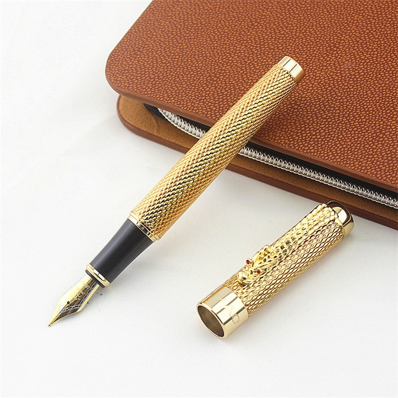 Luxury Eastern Dragon Design Fountain Pen Jinhao 1200 Brand Business Office Gift Ink Pens School Writing Stationery Supplies