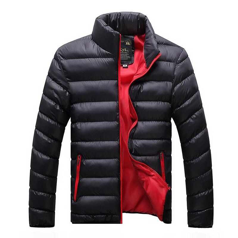 Hiver hommes 2020 Parka manteau vers le bas garder au chaud 4 couleurs hommes vestes décontractée S-4XL mâle vêtements vêtements épais coton hommes veste