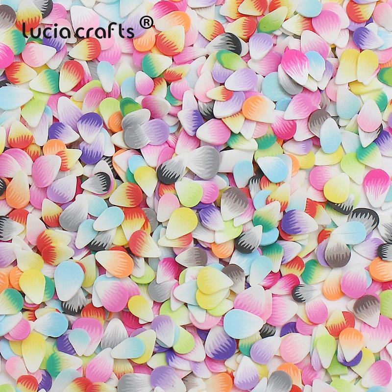 20g/50g 5mm pétalas coloridas da flor da resina deixa pétalas artificiais confetes evento para decorações do festival da festa de casamento f1304