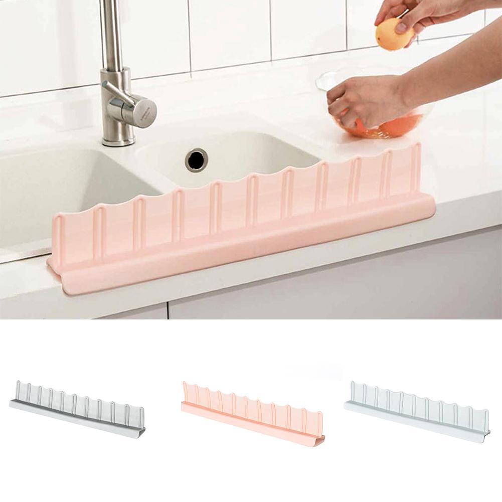 Tragbare Becken Waschbecken Wasser Splash Schutz Küche Bad Splash Prallplatte Heißer