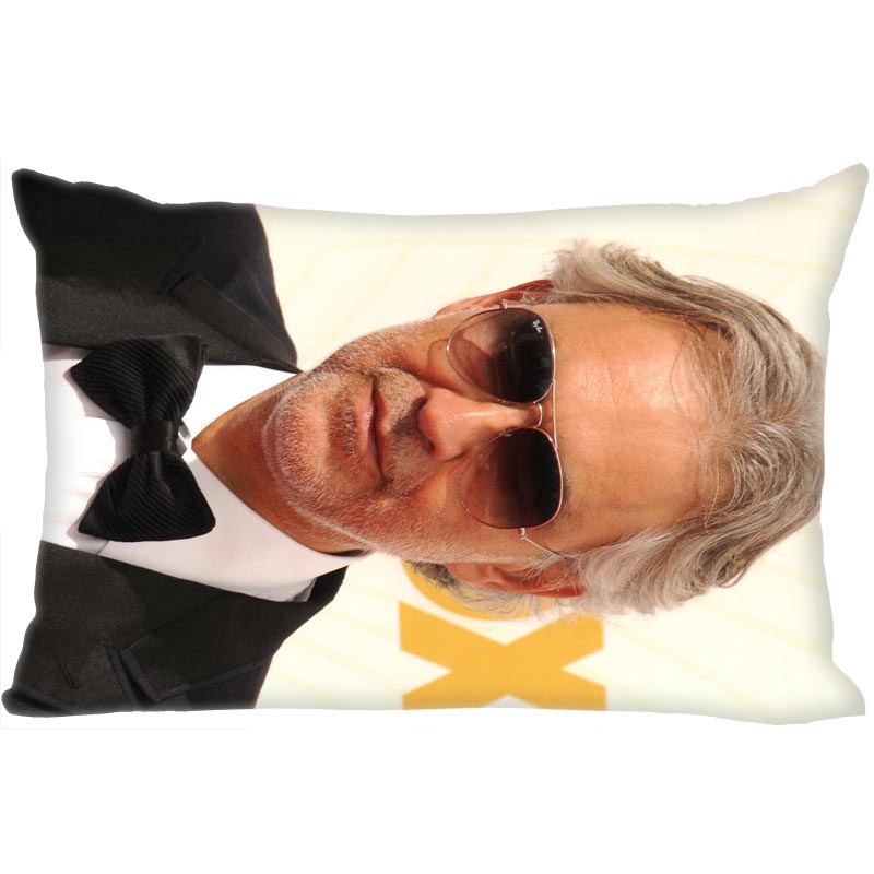 Andrea Bocelli Pillowcase Satin Fabric Bright Smooth Rectangle Zipper Pillow Cases Home Wedding Decorative For Friend Gift