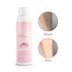 5 segundos de espuma rápida indolor da mousse do pulverizador 120ml da remoção do cabelo das axilas fácil de usar a remoção do cabelo da perna do cabelo da parte privada
