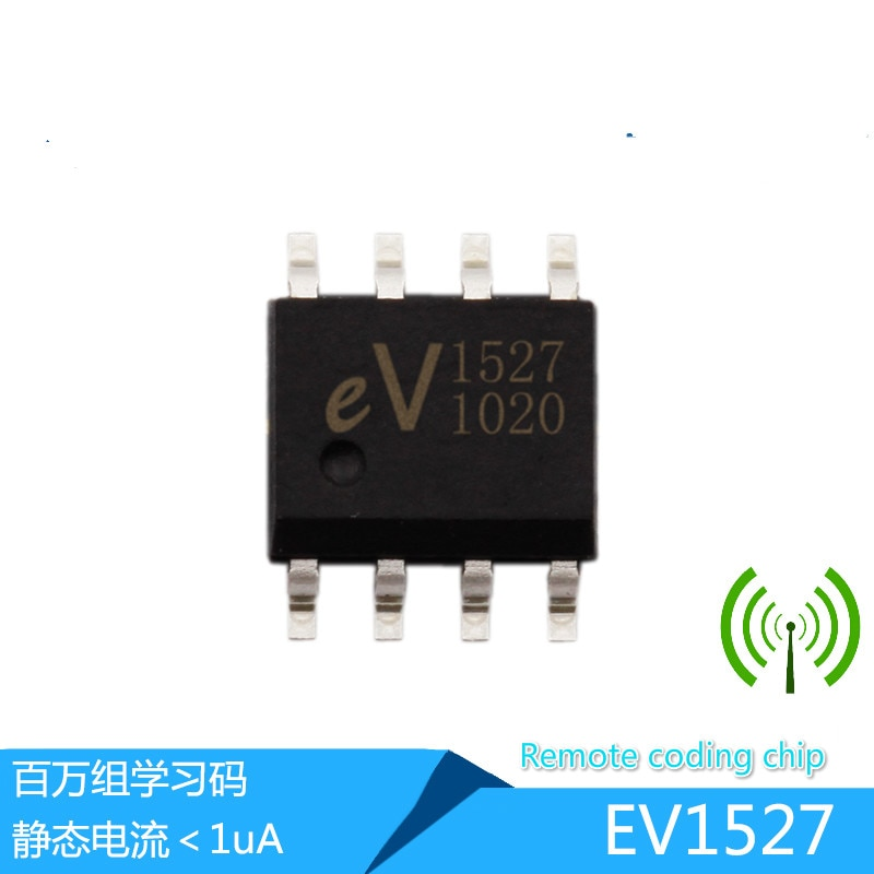 3000 pcs Original local EV1527 chip de codificação sem fio, compatível com RT1527 2240 radio frequency controle remoto