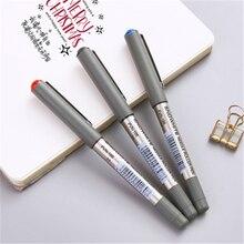 مستقيم السائل قلم حبر جاف الأعمال القلم طالب مكتب القرطاسية يمكن رؤية سلسلة 0.5 مللي متر توقيع القلم مباشرة السائل نوع عالية ca