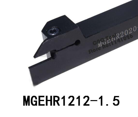 MGEHR1212-1.5/MGEHL-1212-1.5, cnc torno ranurado externo herramienta titular cortador para insertos Mgmn150 outlet de fábrica, barra de perforación