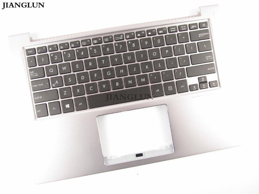 JIANGLUN Laptop palmrest Top case mit UNS tastatur mit backlit hintergrundbeleuchtung für Asus ZenBook UX303U UX303UA UX303UB U303L UX303