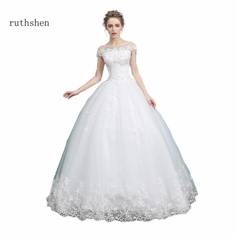 Ruthshen-abalorios De cuello festoneado, Vestidos De novia, Baratos, apliques para Vestidos De...