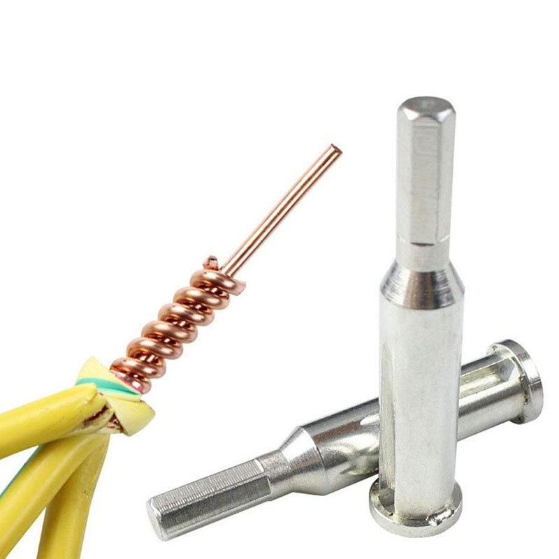 2,5/4 плоские 3/5 линии портативный инструмент для Скручивания Проволоки Стальной кабель соединитель провода зачистки скручиватель для силов...