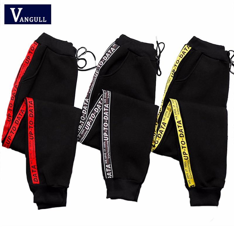 Women Print Striped Pants 2019 Spring Summer Fashion New Style Korean version women Thin section High Waist Casual sports pants