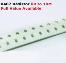 500 unids/lote Chip SMD resistencia 0402 300R/330R/360R/390R/430R de resistencia de 5%/300/330/360/390/430/Ohm resistencias k envío gratis