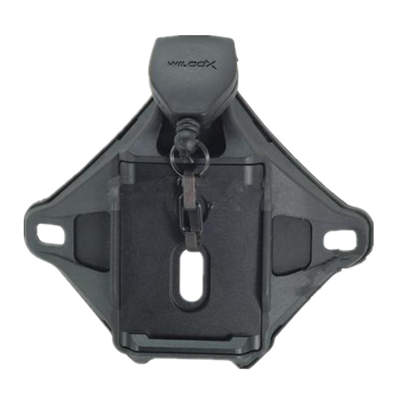 Casco táctico L4 híbrido en serie sudario para casco o Noche-gafas DE visión nocturna negro DE FG