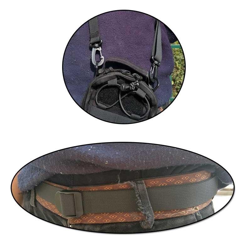 EDC Tattico Cintura In Nylon Molle Clip di Attrezzature Per Esterni Sacchetto di Usura di Equitazione Sacchetto di Nylon Vice Cintura Militare Cintura di Strumento di Fissaggio SS