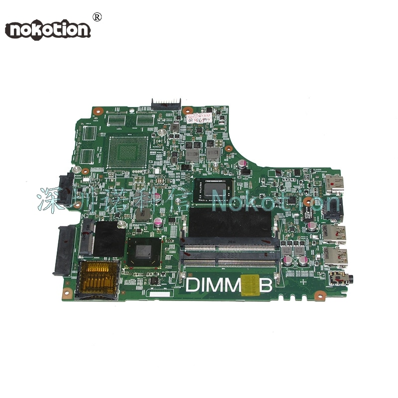 NOKOTION DNE40-CR MB 5J8Y4 CN-07GDDC 07GDDC 7GDDC junta para series Inspiron 3421 portátil placa base SR0U4 I3-2375M