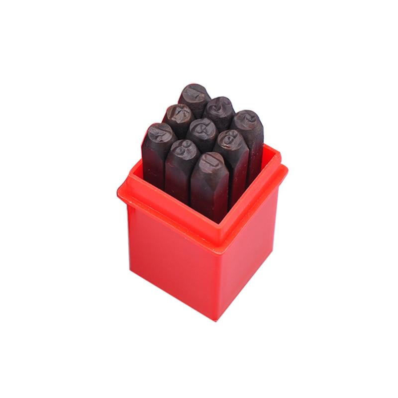 Новый набор штампованных штампов из закаленной стали, металла, дерева, кожи, инструменты для пробивки, ремесло, уплотнение, PAK55
