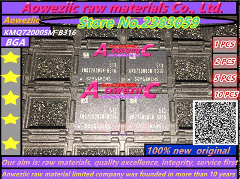 Aoweziic 100% nuevo original KMQ72000SM-B316 BGA chip de memoria KMQ72000SM B316