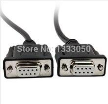 11.11 Livraison Shippinng 7.9Ft Femelle RS232 DB9 9 Broches PLC Programmation Câble Cordon pour Allen Bradley SLC