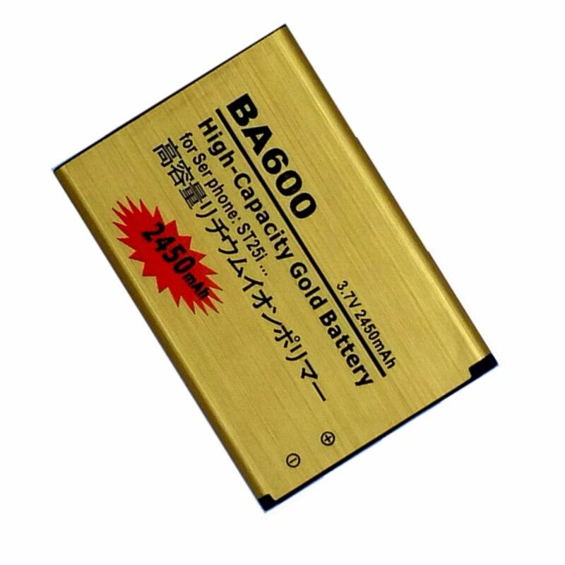 Supersedebat-Batería de repuesto BA600 para Sony Ericsson Xperia U ST25i ST25 ST25C...