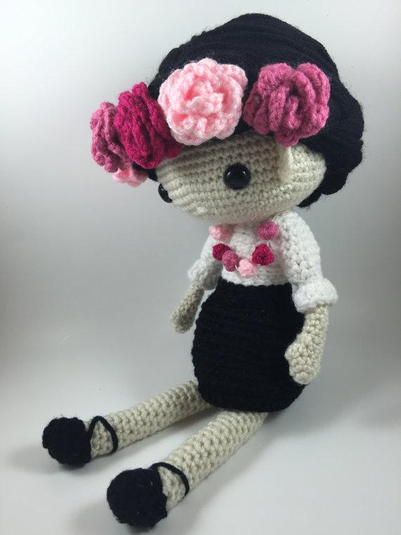 Amigurumi Doll Crochet rattles
