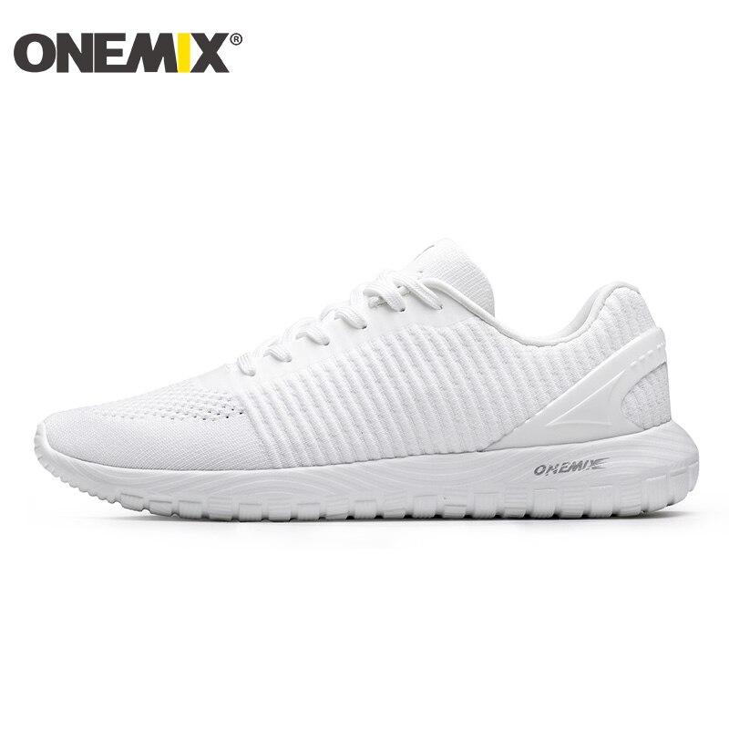 ONEMIX, zapatillas de deporte para mujer, verano 2019, recién llegadas, malla transpirable, informal, ligera, para correr al aire libre, tallas grandes, zapatos para mujer 43
