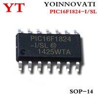 50pcs/lot PIC16F1824-I/SL PIC16F1824 MCU 8BIT 7KB FLASH 14SOIC best quality.