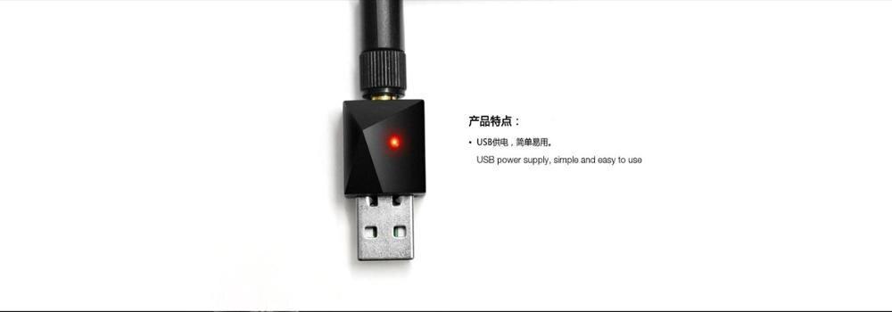 Para Nordic BLE4.0 fuente de alimentación USB ibeake SMA interfaz distancia xBeacon-U2