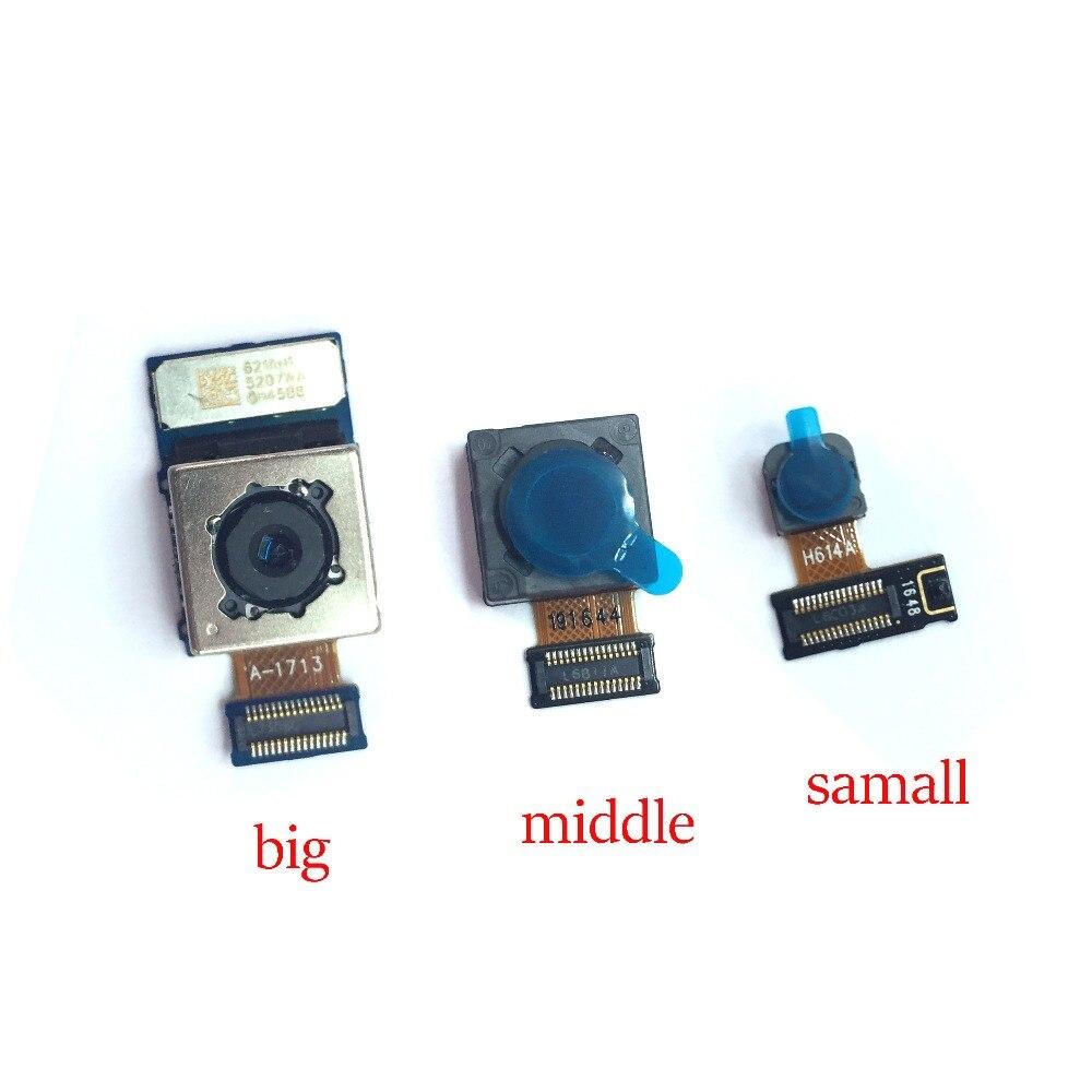 1 Uds nuevo Original para LG G6 gran cámara trasera medio pequeña...