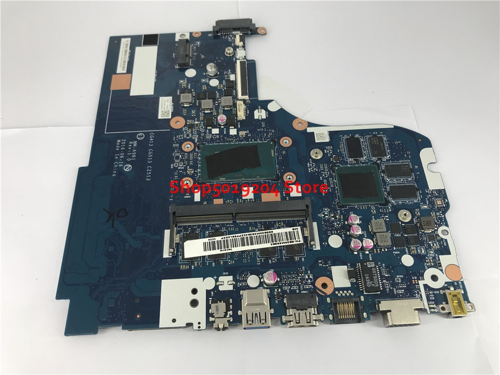لينوفو 310-14IKB 510-14IKB Laptop mainboard i3-7100U CG413 CG513 CZ513 NM-A981 اللوحة