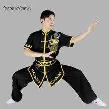 Taoyekma tenue uniforme des vêtements, Wushu costume kung fu vêtements uniforme des arts martiaux exercice avec déguisement chinois