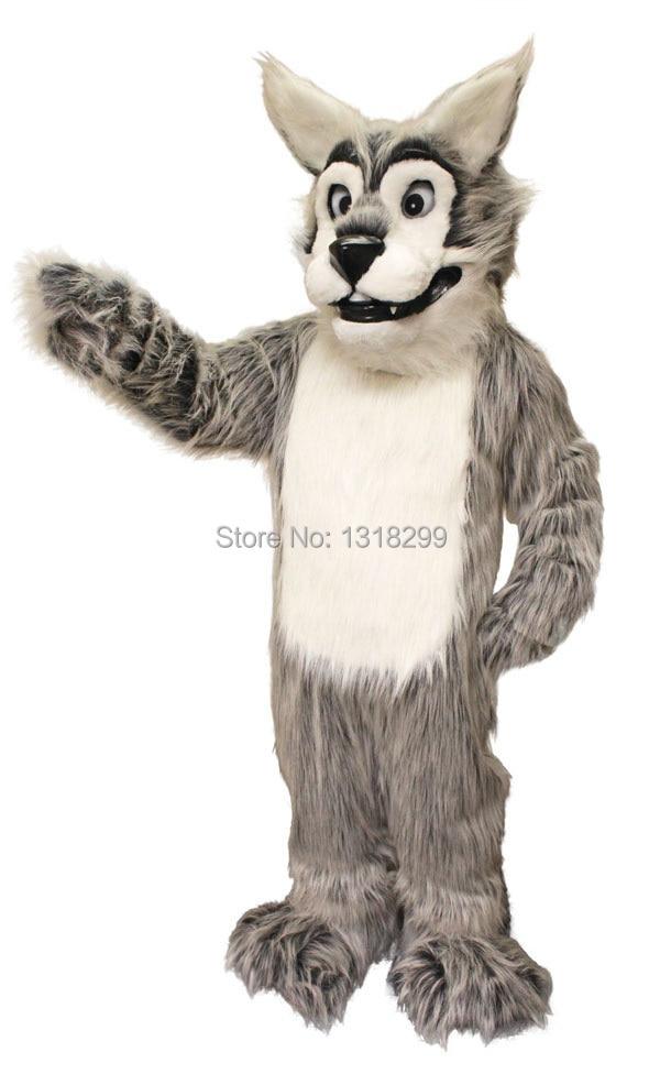 Disfraz de mascota Leroy Wolf, disfraz de fantasía personalizado, disfraz de fantasía, tema de cosplay, disfraz de Carnaval de Mascota, kits