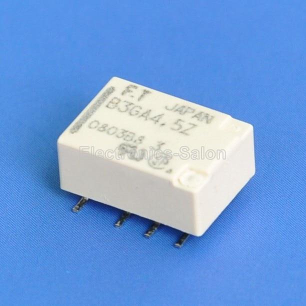 (4 teile/los) Hochfrequenz Ultra miniatur SMD 4,5 V DPDT Relais, FUJITSU FTR-B3 GA4.5Z