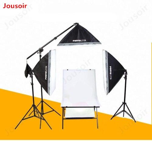 Equipo de iluminación de luz Softbox de fotografía profesional equipo de foto Softbox de luz de estudio suave 50X70 CD15