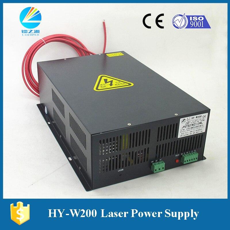 Fuente de alimentación láser de HY-W200 Original Hongyuan para máquina de corte láser de 200 vatios