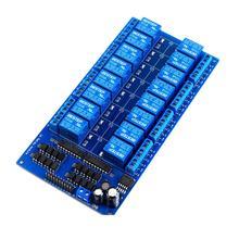 Module de protection de relais 5V   16 canaux avec optocoupleur LM2576, alimentation électrique pour Arduino
