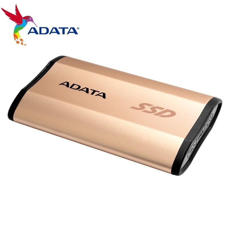 ADATA SE730 الخارجية محركات الأقراص الصلبة 250G USB 3.1 3D NAND فلاش يعزز المتانة للنوافذ ماك الروبوت يصل إلى 500 برميل/الثانية