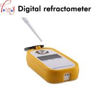 Handheld Digital Saccharimeter DR102 Portable Digital Sugar Refractometer 0-90% Refractive Index 1PC