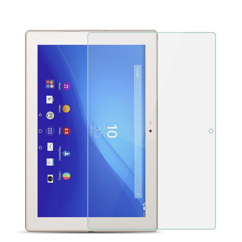 Vidrio templado para Sony Xperia Z4 Tablet SGP771 SGP712 10,1 pulgadas 9H Ultra delgado Tablet película protectora de vidrio endurecido