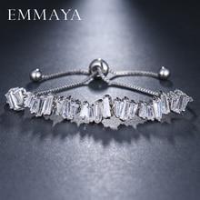 EMMAYA Fashion Vrouwen Rhinestone Zirconia Armband Fashion Verstelbare Armbanden Sieraden Mooie Armband Gift