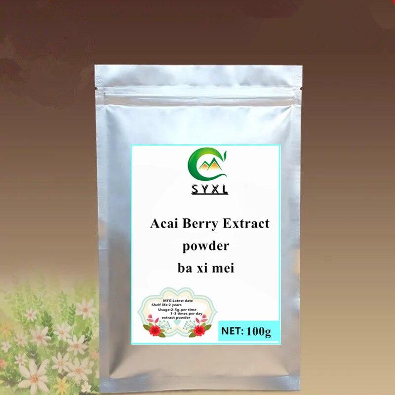 Extracto de baya de Acai orgánico, 100% en polvo, 100g-1000g