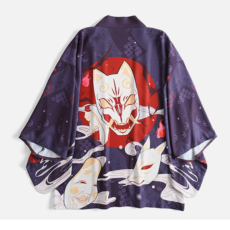 Vestido japonês quimono feminino cardigan quimono blusas mujer de moda 2019 japonês streetwear cosplay novo sentimento cinto de roupas