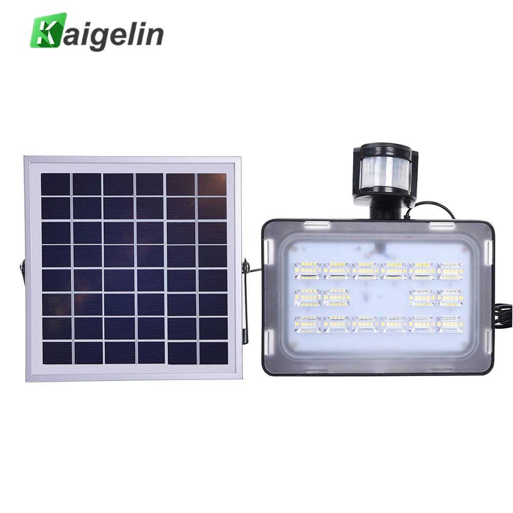 10/20/30/50 واط 12 فولت PIR حساسات الحركة الشمسية التعريفي تحسس LED كشاف ضوء مصباح للطاقة الشمسية IP65 SMD2835 إضاءة ليد تعمل بالطاقة الشمسية الكاشف