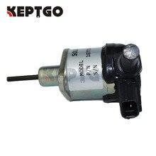Fuel Stop solenoid 12v 1G772-60012 1G772-60014 1G772-60010 For Kubota Tractor KX0574 KX0803T