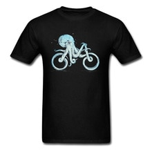 Мужская футболка с изображением осьминога размера плюс, синяя, черная, смешная футболка с изображением жонглирования, Хлопковая весенняя Футболка хорошего качества
