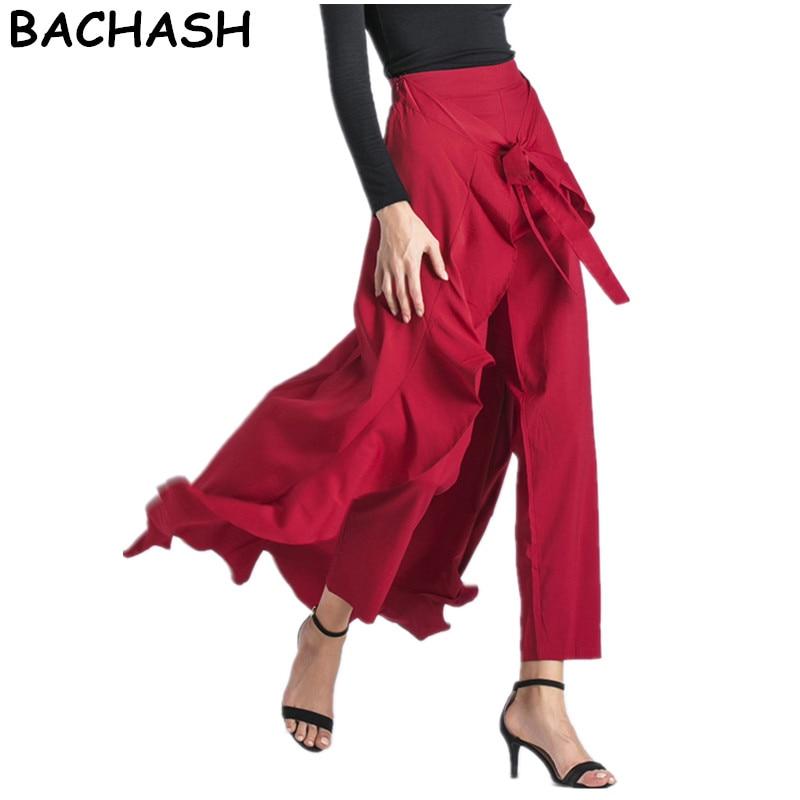 Falda larga de bachach, faldas de talle alto para mujer, faldas de talle alto Amarillo Neón negras Saias Longa 2020, falda Formal femenina
