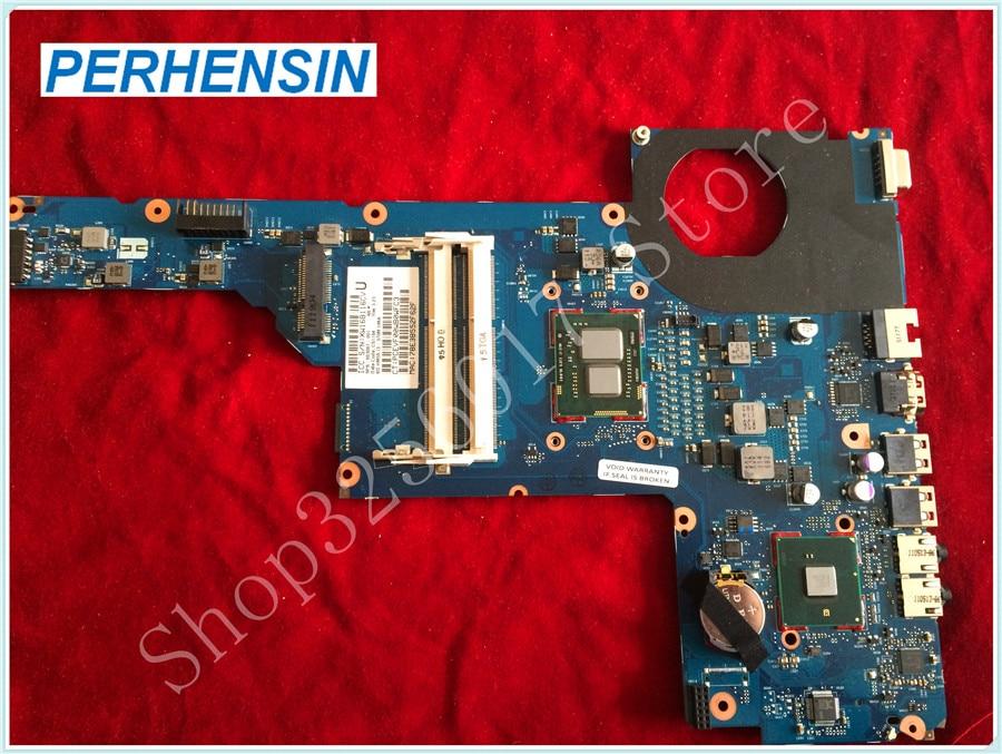 Для HP Для G6-1000 G6-1B79DX материнская плата для ноутбука w Core i3-370M SLBTX CPU 653087-001 6050A2450801-MB-A02 100% Протестировано
