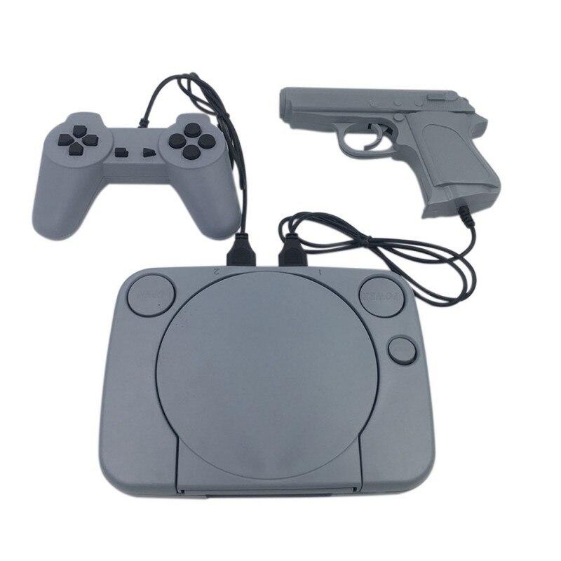Consola de Video de juegos Retro, Mando de juegos doble con soporte de 8 bits AV Out, juego de vídeo con controlador de 2 uds de TV familiar (sin pistola de juego)