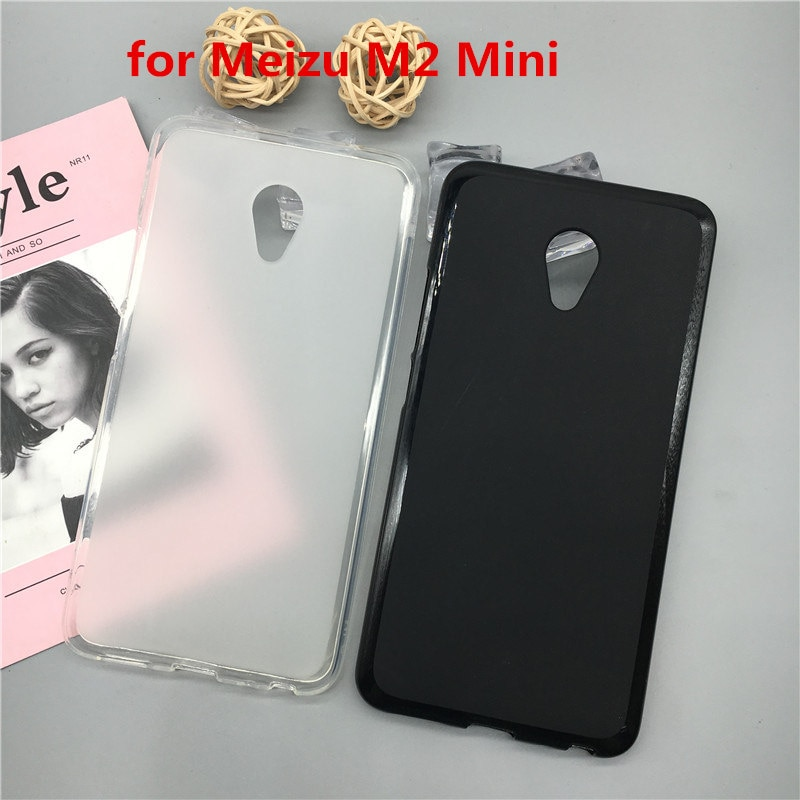 Funda de lujo Para Meizu M2 Mini, funda de silicona suave Para...