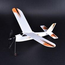 Bricolage 3D mousse élastique alimenté planeur élastique avion modèle volant avion enfants jouet pour enfants jouet éducatif Chirsmas cadeau