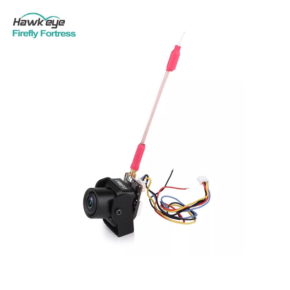 Hawkeye Vagalume Fortaleza Micro FPV AIO 2.1 milímetros 1/3 H 960 TVL Mini Câmera Cam w/5.8G 200mW Transmissor VTX para Drone 1 S-6 S RC Car