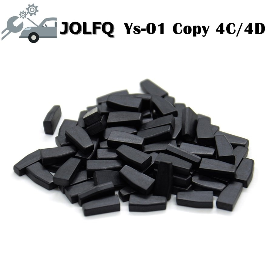 Preço de fábrica!! auto chaves do carro cn1 cópia 4c cn2 cópia 4d transponder chip YS-01 ys01 repetir clone por cn900 ou nd900 50 pçs/lote
